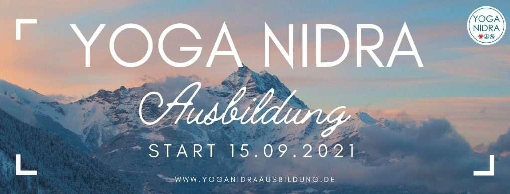 Yoga Nidra Ausbildung Online startet am 15.09.2021