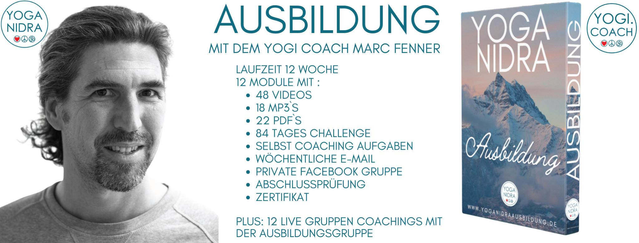 Übersicht Yoga Nidra Ausbildung Online