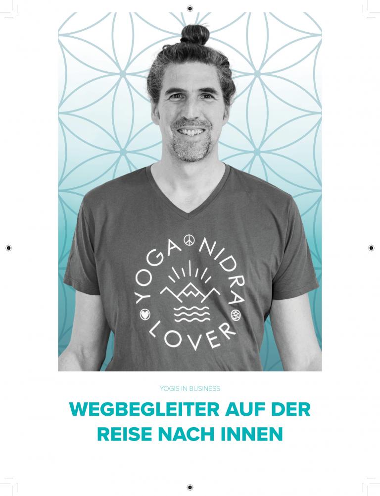 Interview Yoga Journal Marc Fenner YogiCoach Yoga Nidra Ausbildung