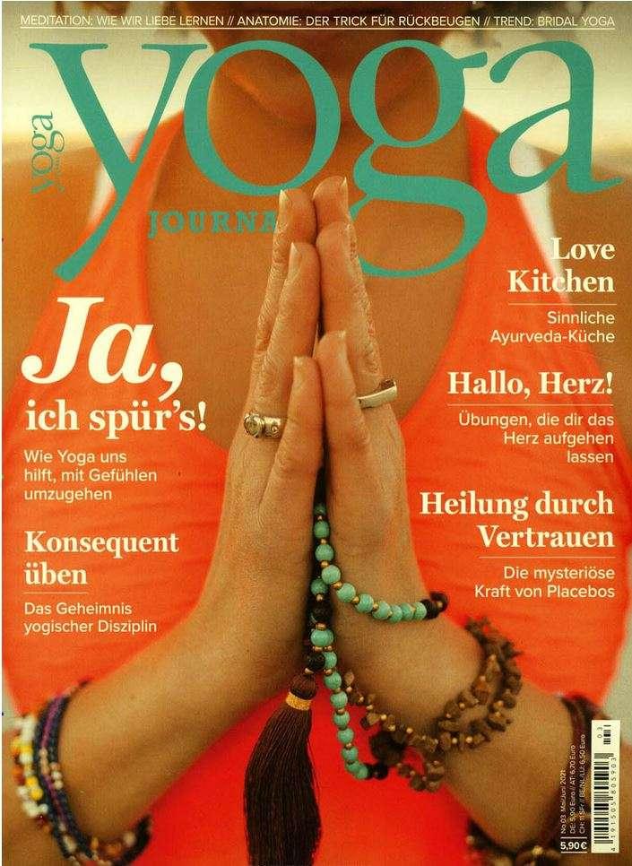 Yoga Journal Deutschland Ausgabe 04.2021